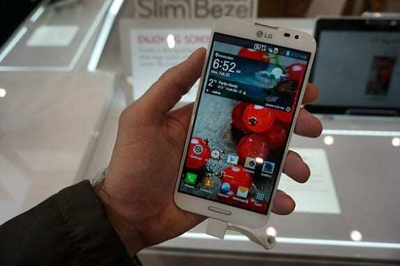 LG Optimus G Pro: a cuatro núcleos y pantalla Full HD