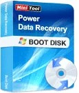MiniTool Power Data Recovery Boot Disk para recuperar datos del PC