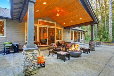 A Couple of Patio Roof Designing Ideas