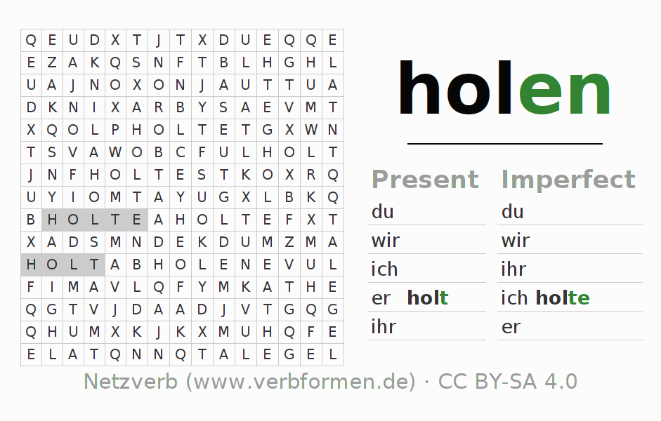 Infinite Word Search Puzzle