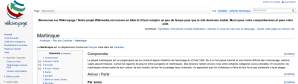 Capture Wikivoyage du 2013-01-
