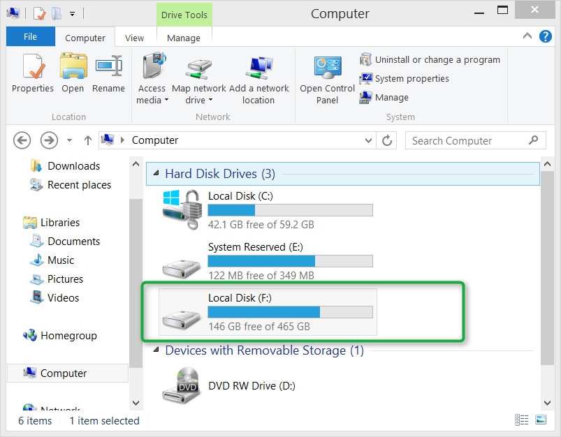 How To Access Data From The Local Disk When Running A Windows To Go