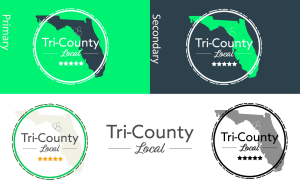 tricounty local logo variations
