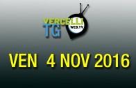 TG – Ven 4 Nov 2016