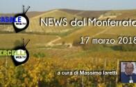 NEWS dal Monferrato – 17 marzo 2018