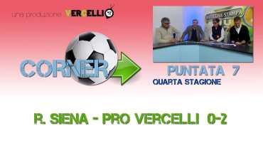Corner 2018/2019, Robur Siena – Pro Vercelli 0-2
