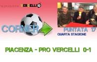 Corner 2018/2019, Piacenza – Pro Vercelli 0-1