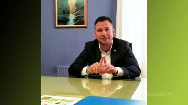 Gli Auguri di Natale del sindaco di Gattinara, Daniele Baglione