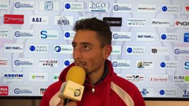 Pro Vercelli – Cuneo 0-1: Giuseppe Caso, attaccante Cuneo