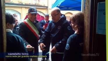 Castelletto Ticino: nuova sede della Guardia Costiera Ausiliaria