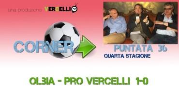 Corner 2018/2019, Olbia – Pro Vercelli 1-0
