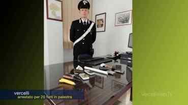 Vercelli: arrestato l'autore di 20 furti in palestra
