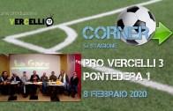 Corner 2019/2020, Pro Vercelli – Pontedera 3-1