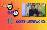 TG – Giovedì 13 febbraio 2020