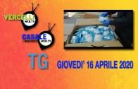 TG – Giovedì 16 aprile 2020