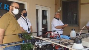 Vercelli: la tecnologia in risaia con i droni