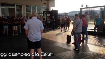 Vercelli: stamane assemblea alla Cerutti di Vercelli