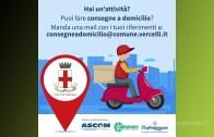 Vercelli: aggiornato l'elenco della attività di consegna a domicilio