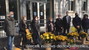 """Vercelli: iniziativa dei fiorai vercellesi """"Festa della Donna 2021, un sorriso nelle RSA"""""""
