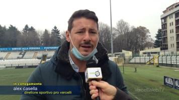 Calcio, Pro Vercelli: il ds Casella fa il punto sulla situazione contagi covid