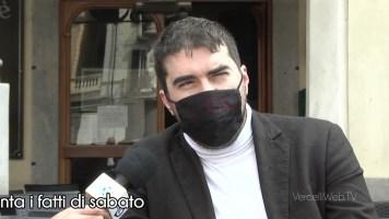 Vercelli: Giordano Tosi, del Bar Cavour, racconta i fatti di sabato