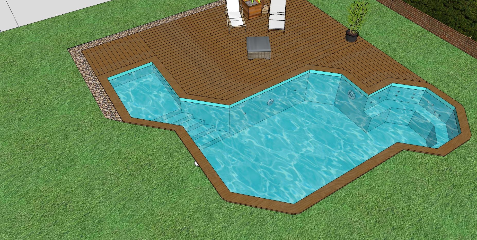 Piscine en bois sur mesure r alisez votre piscine de for Prix liner piscine sur mesure