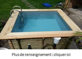 piscine bois 2 5m