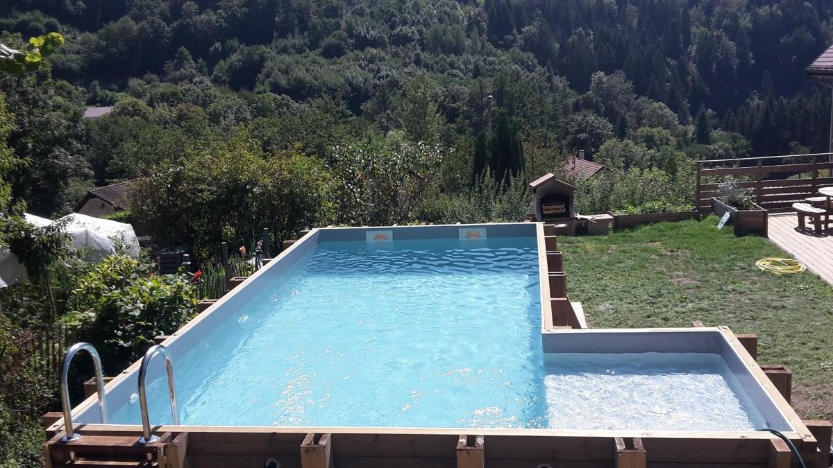 Piscine en l ou angle de vercors pisicne vercors piscine for Chlorinateur piscine