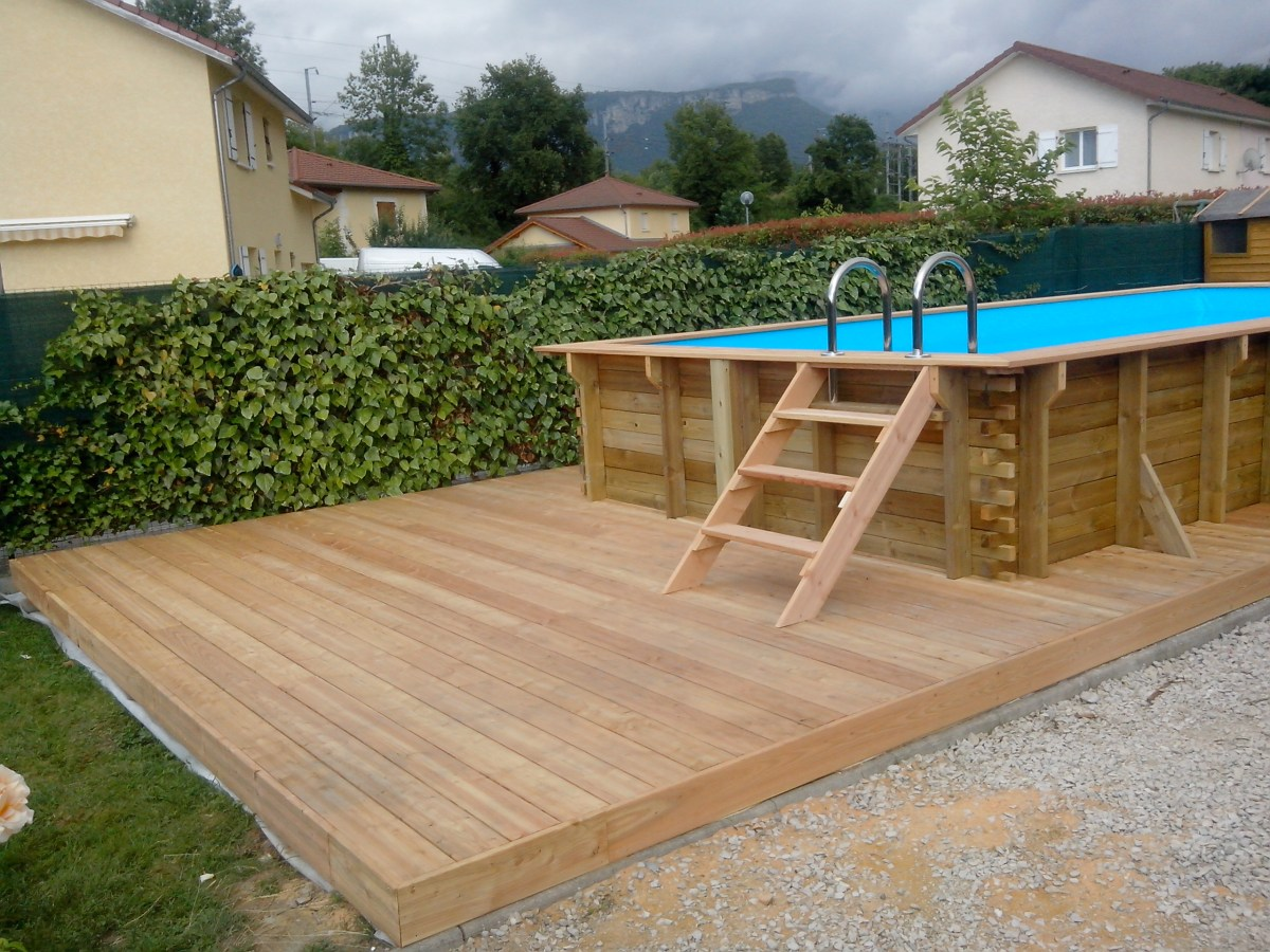 Piscine en bois eco vercors piscine for Piscine eco