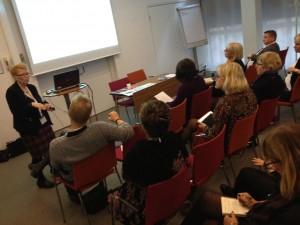 Ann-Mari Wulfstrand-Byhlin, Verdandi Örebro berättar om det praktiska arbetet och de goda resultaten av de brukarstyrda brukarrevisionerna i Örebro län.