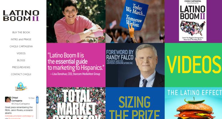 latino boom homepage