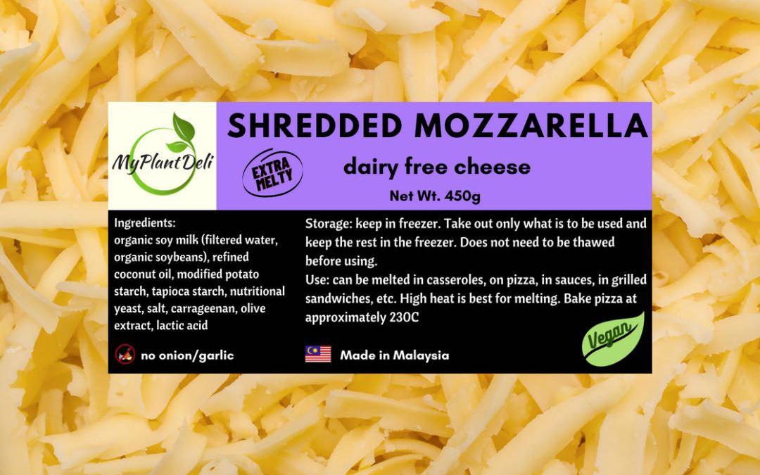 Vegan Shredded Extra Melty Mozzarella Cheese