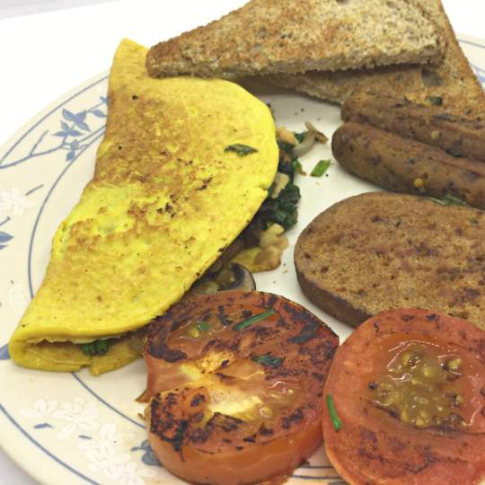 Vegan Omelette and French Toast Mix