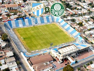 Pré-jogo Atlético Tucumán x Palmeiras