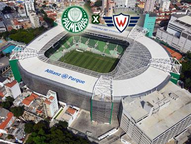 Pré-jogo: Palmeiras x Jorge Wilstermann