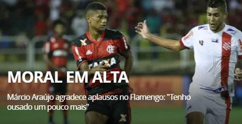 Marcio Araújo, ousado
