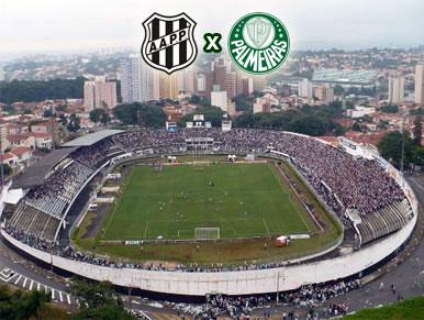 Pré-jogo Ponte Preta x Palmeiras