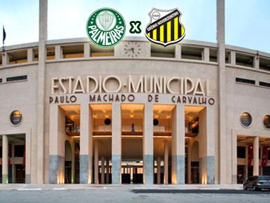 Pré-jogo Palmeiras x Novorizontino