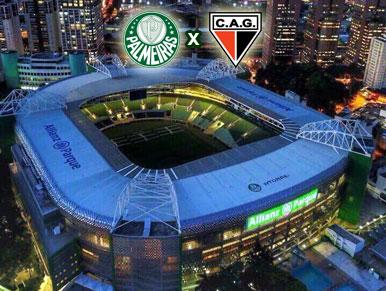 Pré-jogo Palmeiras x CAG