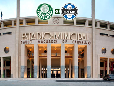 Pré-jogo Palmeiras x Grêmio