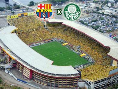 Pré Jogo Barcelona-EQU x Palmeiras