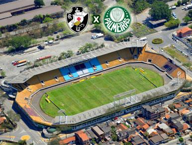 Pré-jogo Vasco da Gama x Palmeiras