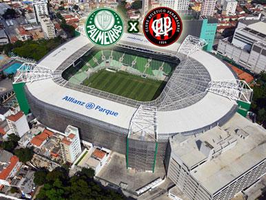 Pré-jogo Palmeiras x Atlético-PR