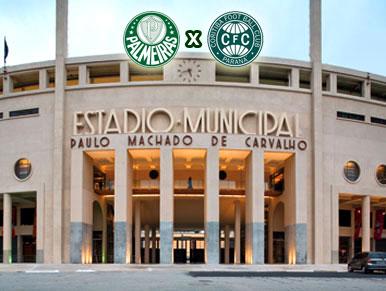 Pré-jogo Palmeiras x Coritiba