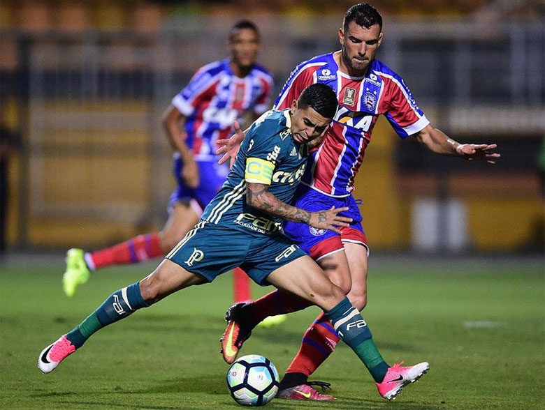 Palmeiras 2x2 Bahia