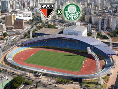 Pré-jogo CAG x Palmeiras