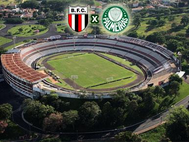 Pré-jogo Botafogo-SP x Palmeiras