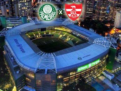 Pré-jogo Palmeiras x Linense