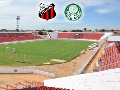 Pré-jogo Ituano x Palmeiras