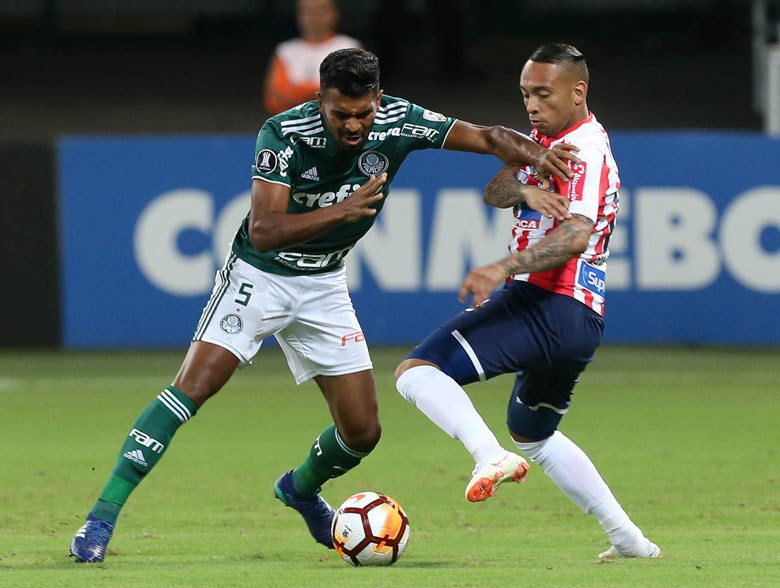 Palmeiras 3x1 Junior de Barranquilla